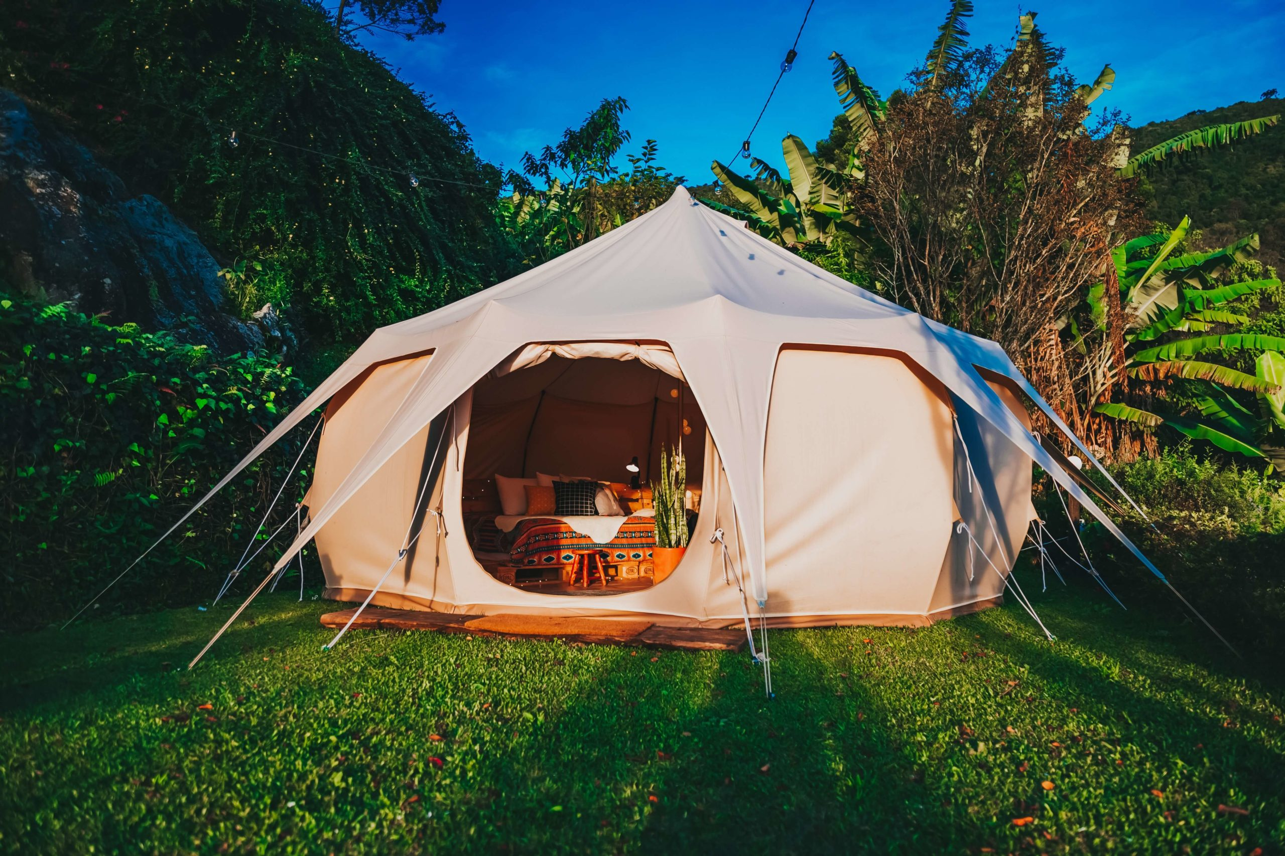 kamperen-in-een-tent